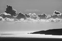 Graphic fine art photograph of the tip of the Messinian Peninsula