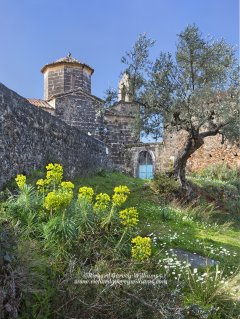 Small Greek chapel in the southern Peloponnese