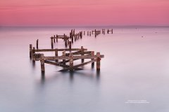 Fine art photograph of Swanage pier