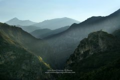 Landscape photograph of Vyros Gorge in Greece