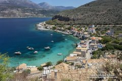 Limeni village in the Oitylo Bay of Greece