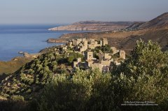 Classic Mani village of Vathia in the Southern Peloponnese